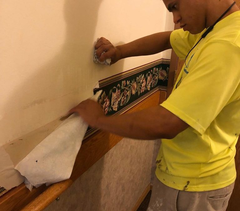 HOW TO REMOVE RESIDENTIAL WALLPAPER
